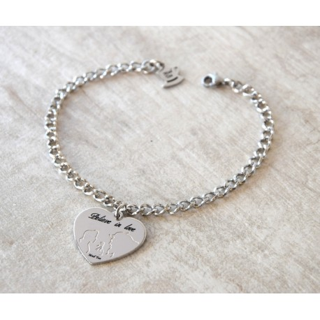 "Bracciale ""Believe in love"""