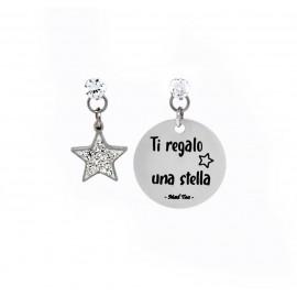 """Orecchini """"Ti regalo una stella"""""""