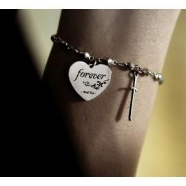 """Bracciale """"Forever: il cuore di Biancaneve"""""""