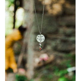 """Collana """"Be happy and smile"""""""