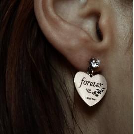 """Orecchini """"Forever il cuore di Biancaneve"""""""