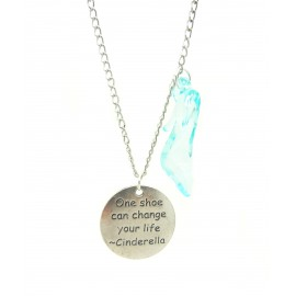 "Collana ""One shoe can change your life"""