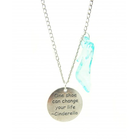 """Collana """"One shoe can change your life"""""""