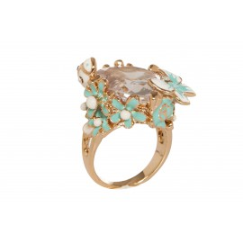 "Anello ""The treasure of flowers"""
