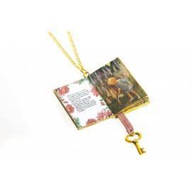 "Collana libro ""The secret garden"""