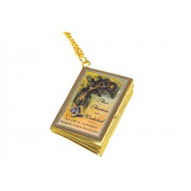 "Collana ""Libro Alice in wonderland"""