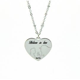 "Collana ""Believe in love"""