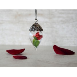 "Collana ""Enchanted rose"""