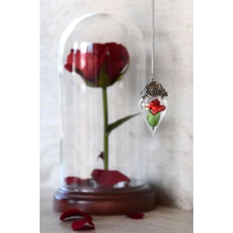 "Collana ""Enchanted rose"""