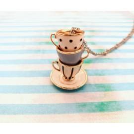 """Collana """"Tea party"""""""