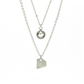 "Collana ""Bright like a diamond"""