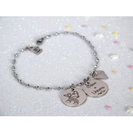 "Bracciale ""Believe in Unicorns"""