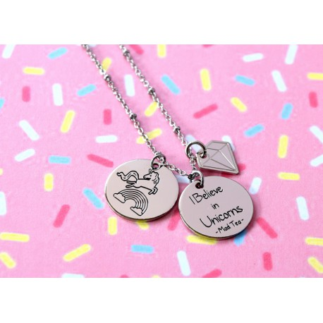 "Collana ""Believe in Unicorns n°2"""